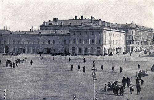Здание Малого театра