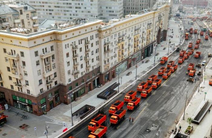 Тверская, дом 4 в городе Москве