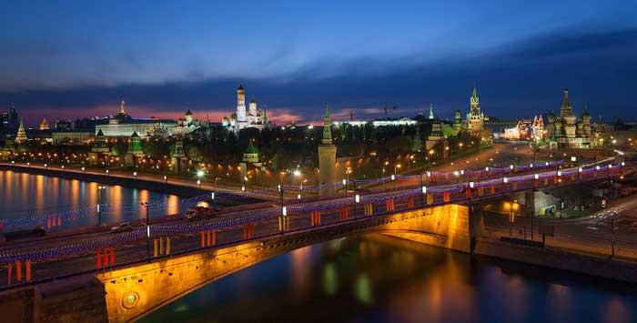 Главные достопримечательности Москвы