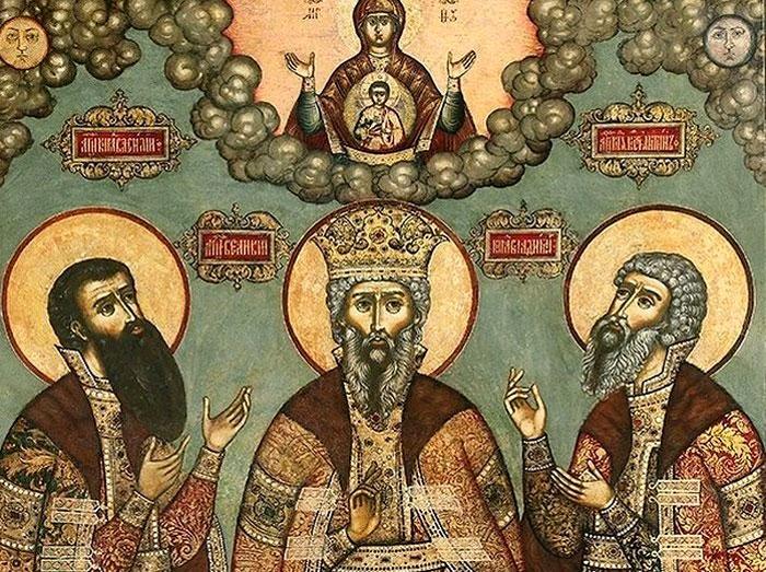Иконы XVI-XIX веков из Ярославля в Москве