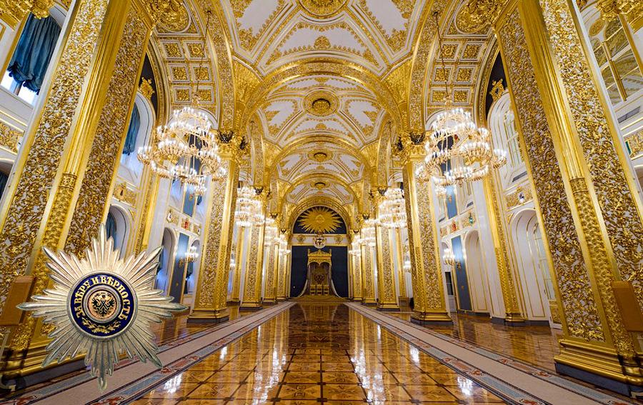 Андреевский зал Кремля