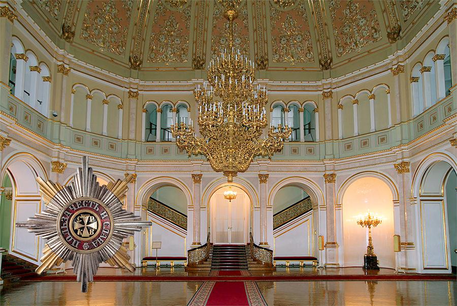Владимирский зал Кремля