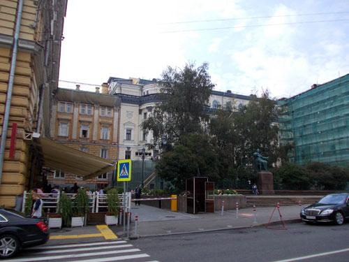 Московская консерватория имени П.И. Чайковского на Большой Никитской