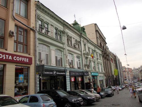 Улица Кузнецкий Мост, дом 18 в Москве