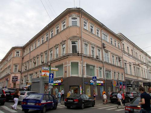 Улица Рождественка дом 6 в Москве