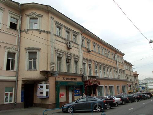 Улица Кузнецкий Мост дом 20