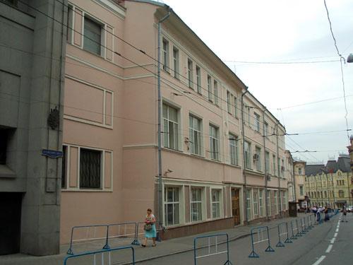 Улица Кузнецкий Мост дом 22 в Москве