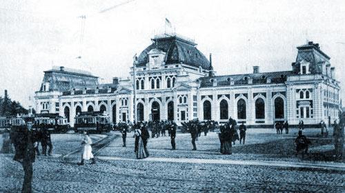 Фото Павелецкого вокзала