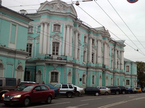 Улица Покровка, дом 22 в Москве
