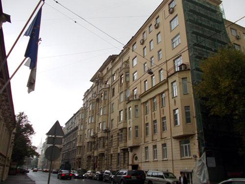 Улица Поварская, дом 18 в Москве
