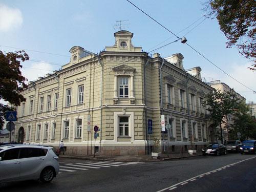 Улица Поварская, дом 21 в Москве