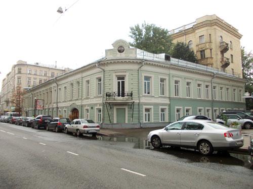 Улица Поварская, дом 31 в Москве