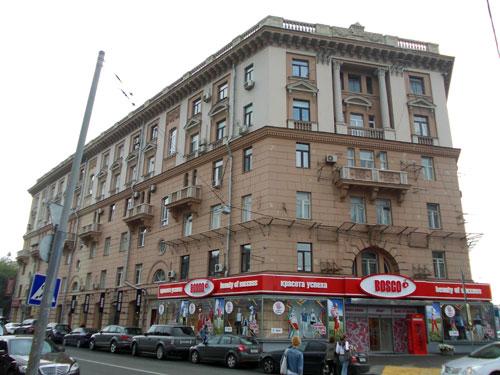 Новинский бульвар, дом 28 в Москве