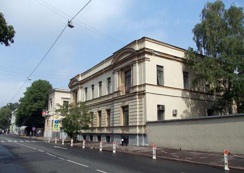 Улица Поварская, дом 40 в Москве