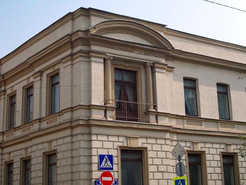 Особняк Голицына-Самариных и посольство Камеруна на Поварской