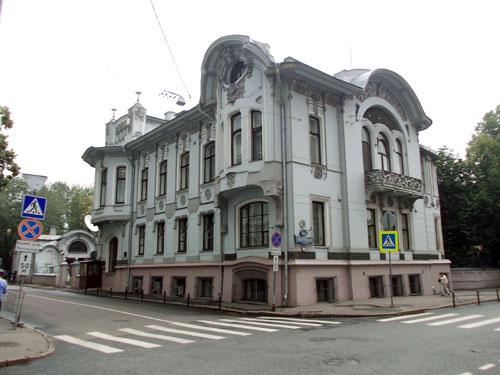 Улица Поварская, 44/Скарятинский переулок, 2 в Москве