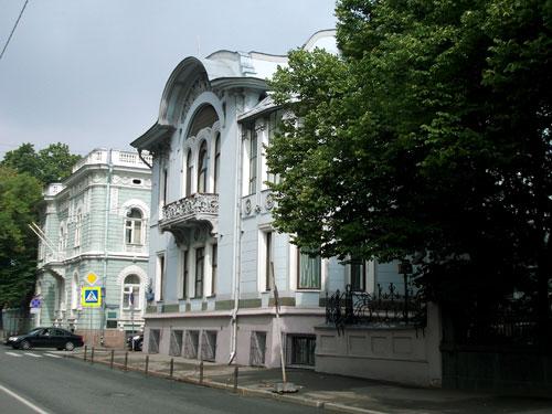 Особняк Миндовского и посольство Новой Зеландии на Поварской