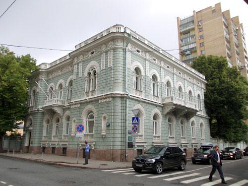 Улица Поварская, дом 46 в Москве