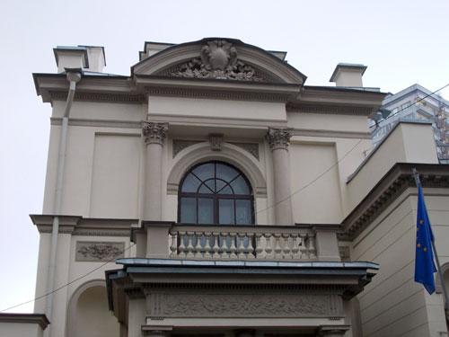 Городская усадьба Казакова - Дункер на Поварской, 9 в Москве