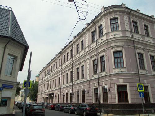 Архангельский переулок, 19 в Москве