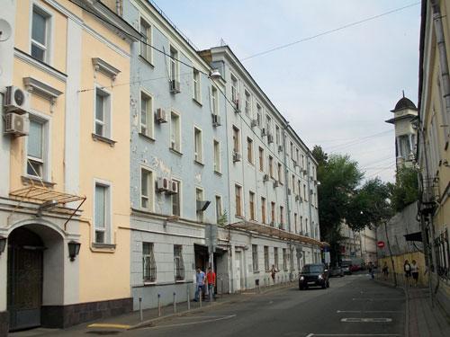 Кривоколенный переулок, 3А