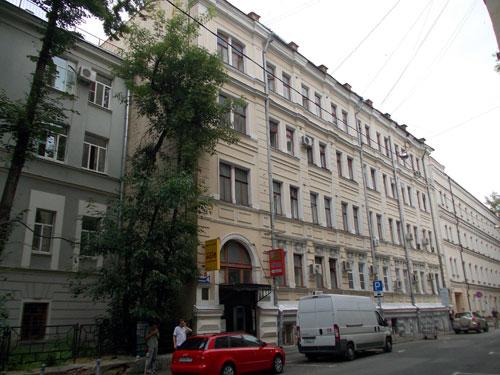 Дом Сытова в Кривоколенном переулке