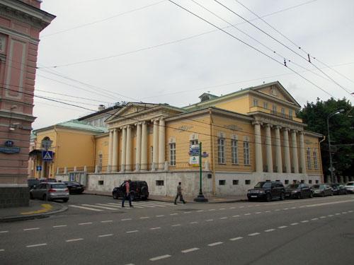 Хрущевский переулок, дом 2 в Москве
