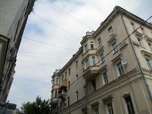 Кривоколенный переулок, дом 11