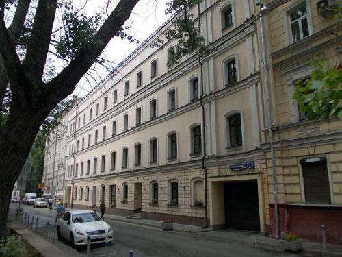 Кривоколенный переулок, дом 5