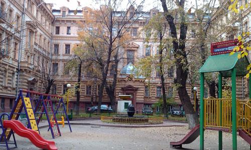Маршальский дом в Романов переулке
