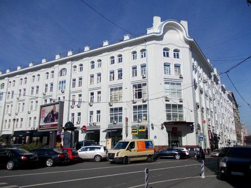Москва, Столешников переулок, дом 13