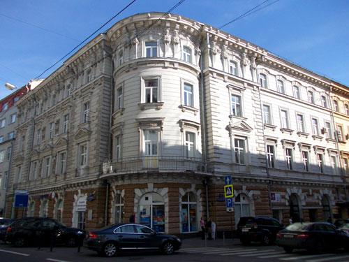 Москва, улица Петровка, дом 20