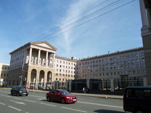 Улица Петровка, дом 38. Здание ГУВД по городу Москве (особняк Щербатовых)