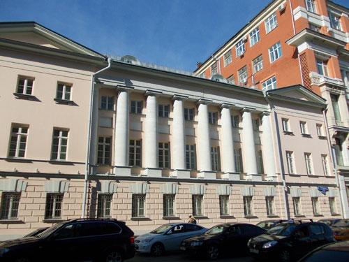 Жилой дом Хомяковых на Петровке