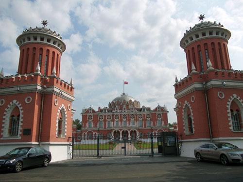 Петровский путевой дворец в городе Москве