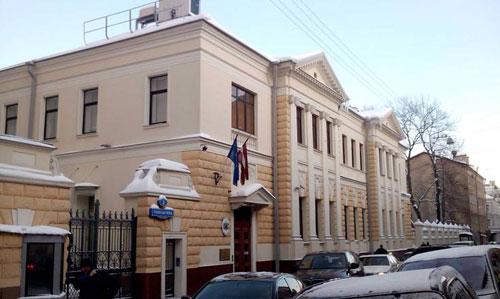 Чаплыгина, 3. Посольство Латвии.