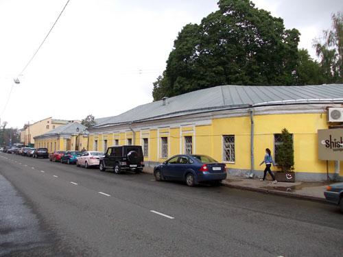 Улица Поварская, дом 52 в Москве