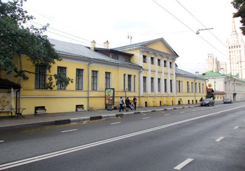 Улица Большая Никитская, дом 55 в Москве