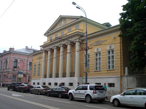 Улица Пречистенка, дом 12 в Москве