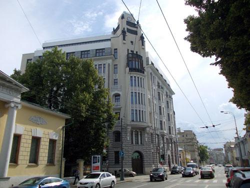 Улица Пречистенка, 13 в Москве