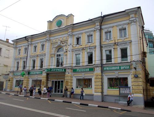 Улица Пречистенка, 6 в Москве