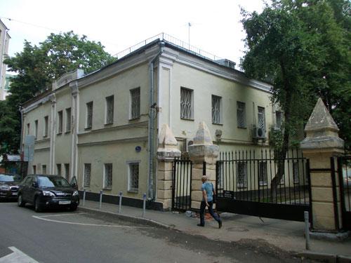 Флигель усадьбы Херасковой-Голубева