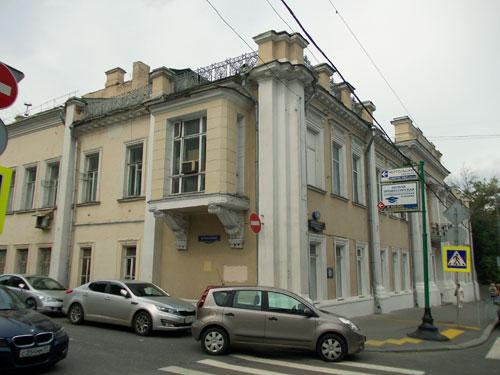 Здание усадьбы Ржевских-Орловых-Филиппа на Пречистенке