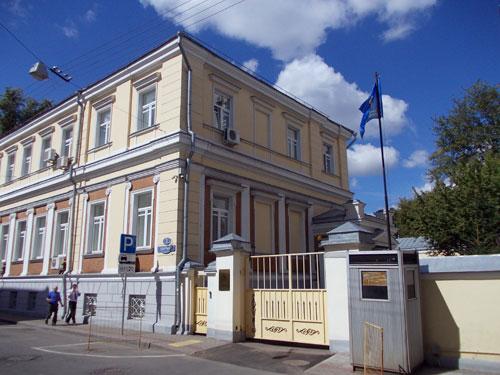 Архангельский переулок, дом 2 в Москве