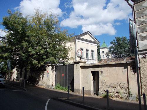 Архангельский переулок, дом 4 в Москве