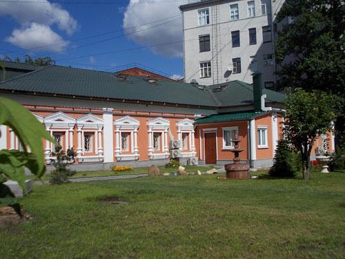 Бывшая резиденция армянского архиепископа в Москве