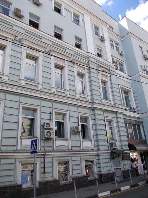 Доходный дом Кудрявцевых-журавлева-в Москве