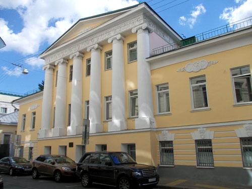 Дом Лаврентьева в Сверчков переулке