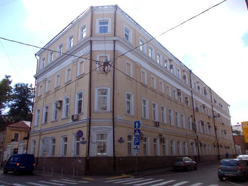 Дом Милованова в Архангельском переулке