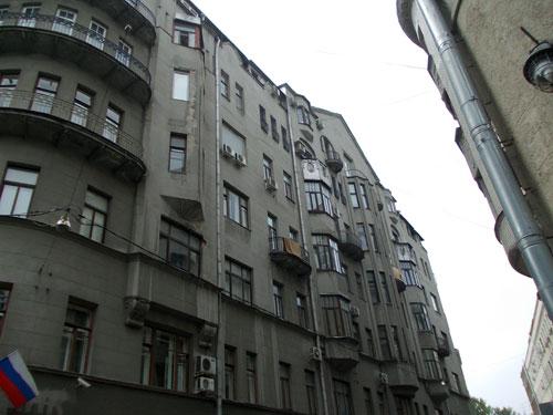 Дом Скальского в Кривоколенном переулке
